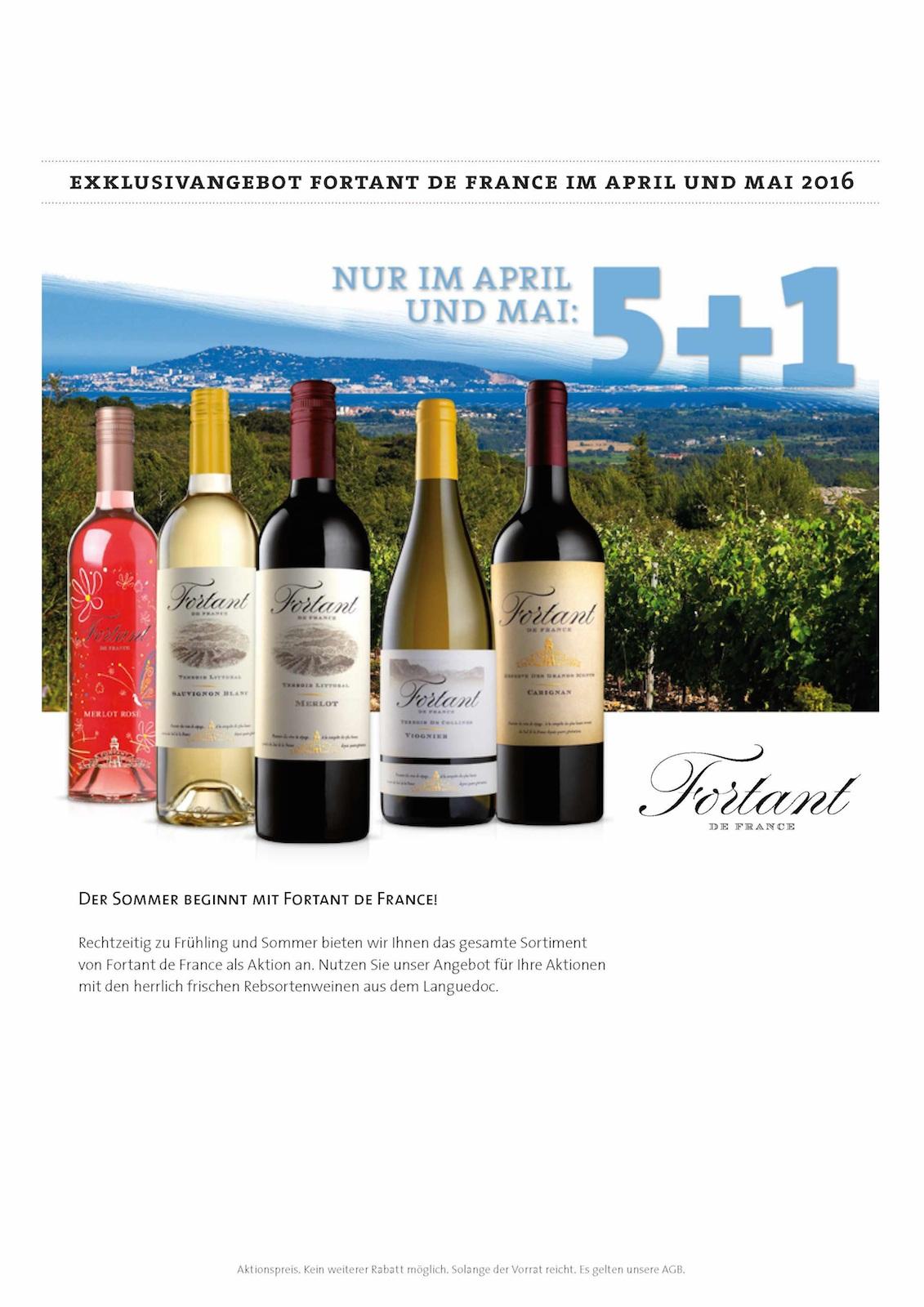 Wein des Monats April Mai 2016