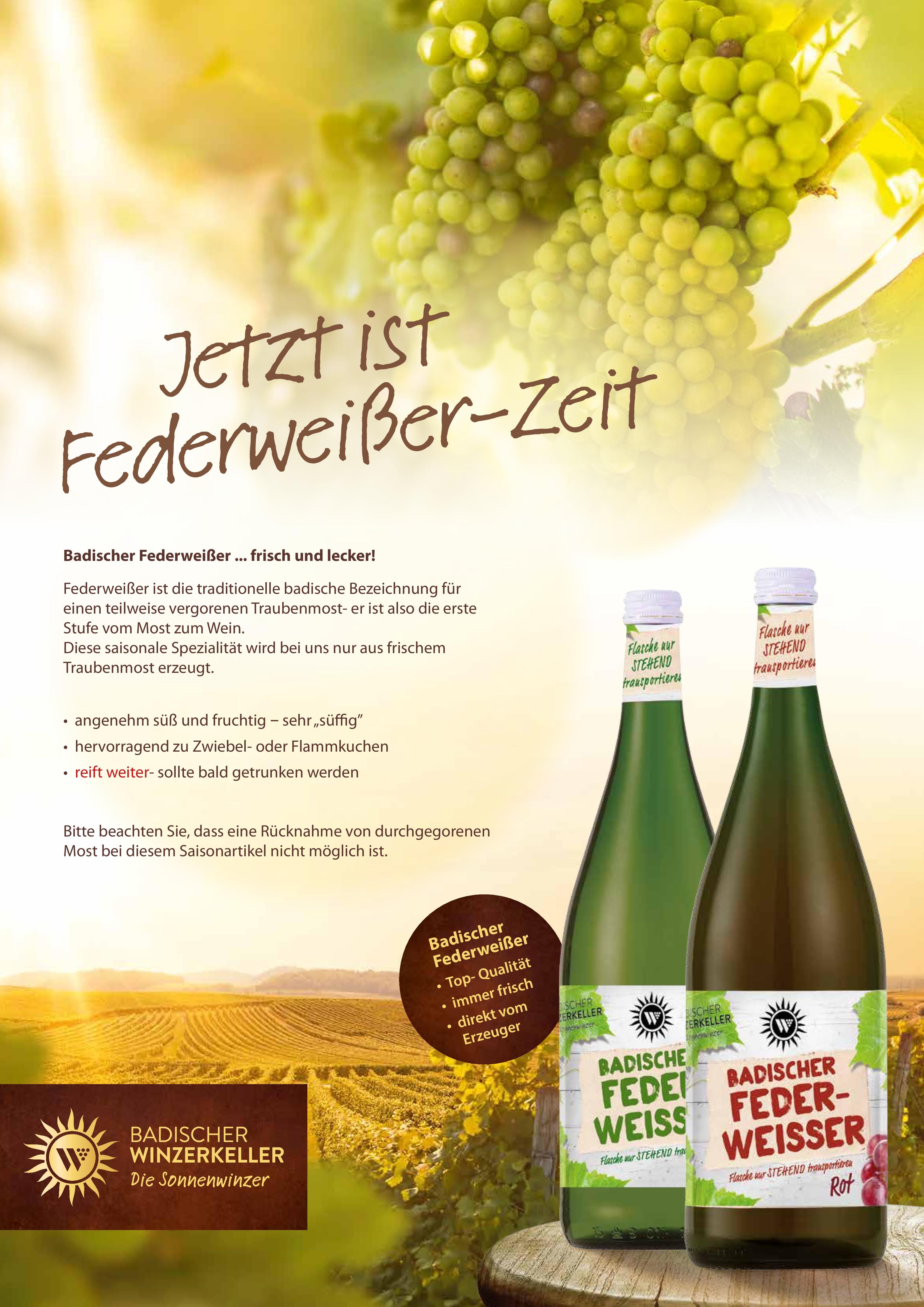 Federweier-Plakat